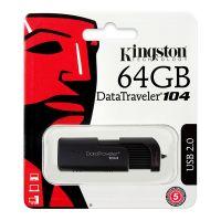 金士顿(Kingston)DataTraveler 104 64GB U盘 黑色