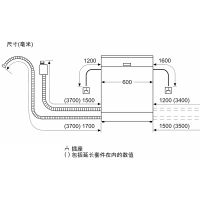 西门子(SIEMENS)13套 iQ500 全嵌式晶蕾洗碗机SN656X26IC不含门板