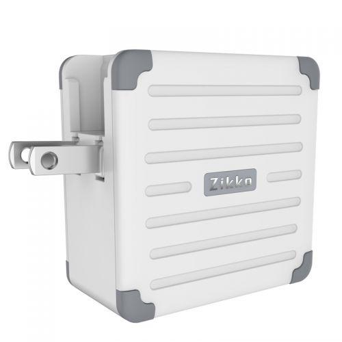 即刻(Zikko)出国旅行智能充电器eLUGGAG EL200(白色)