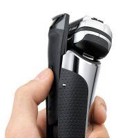 【6月会员专享】产地德国 进口博朗(BRAUN)9系自动清洁 电动剃须刀9390cc(磨砂银)