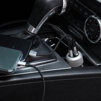 Just Mobile 车充套装 配USB-C To Lighting线(黑色)【特价商品,非质量问题不退不换,售完即止】【清仓折扣】