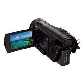 索尼(SONY) 4K高清摄像机 FDR-AX100E(1英寸CMOS 广角蔡司镜头 触摸屏 NFC/WIFI)