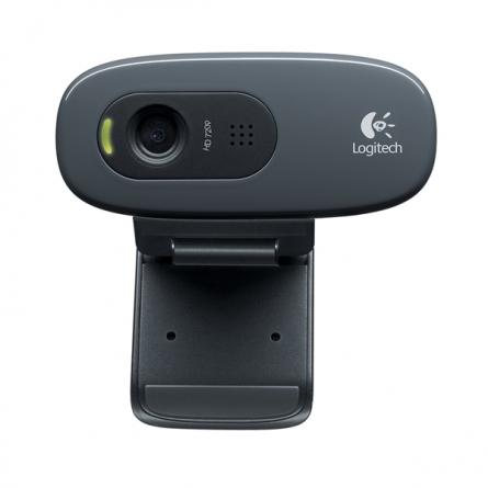 罗技(Logitech)高清网络摄像头 C270 (黑色)