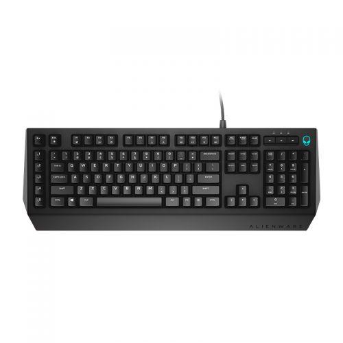 外星人(Alienware)有线游戏键盘AW568 茶轴(黑色) 【特价商品,非质量问题不退不换,售完即止】【清仓折扣】