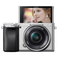 索尼(SONY)ILCE-6400L APS-C微单数码相机套装(16-50mm)银色