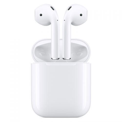 Apple AirPods H1芯片 有线充电 配充电盒2019年款蓝牙耳机MV7N2CH/A(白色)