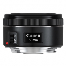 产地马来西亚 进口佳能(Canon)标准定焦镜头 EF 50mm f/1.8 STM