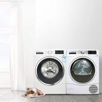 【下单赠送连接架】博世(BOSCH)10KG 洗衣机 WAU28560HW + 9KG 进口干衣机 WTU879H00W 套装(白色)