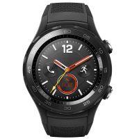 华为(HUAWEI)WATCH 2 硅胶表带手表 4G版 (碳晶黑)
