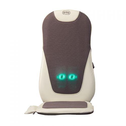 OTO 腰背松背部按摩器EL-898家用多功能按摩背垫(浅灰色)