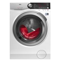 产地意大利 进口AEG 8000系列 10KG 智感系统 带烘干滚筒洗衣机 LWX8C1612W(白色)