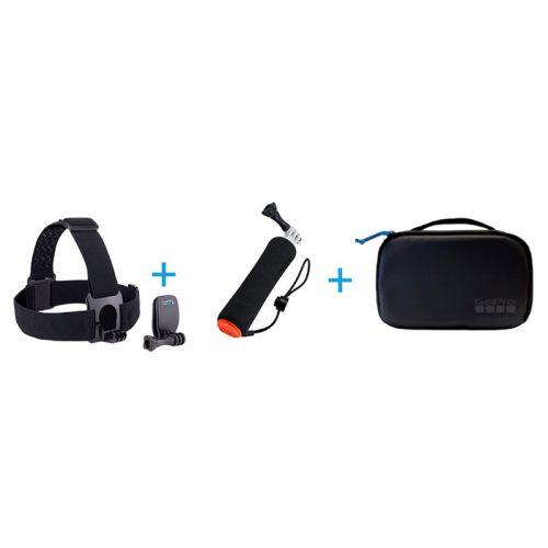GoPro 探险套装配件 AKTES-001(黑色)