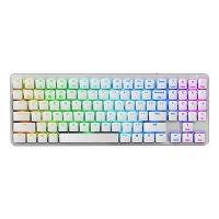 黑峡谷(Hyeku)GK950 白轴 96键 多设备无线蓝牙双模机械键盘(银色)