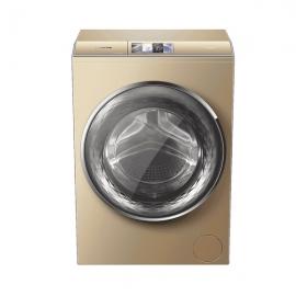 卡萨帝(Casarte)12公斤 滚筒洗衣机 C1HDU12G5(香槟金)
