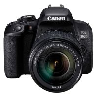 佳能(Canon)EOS 800D 单反套机( EF-S 18-55mm f/4-5.6 IS STM)