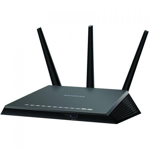 网件(NETGEAR)R7000P AC2300M 智能无线路由器 (变形金刚版)黑色 R7000P-100T
