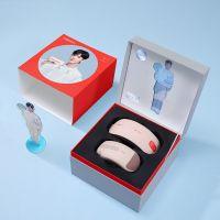 【10月会员专享】倍轻松(breo)颈部 眼部按摩仪 SeeX2 pro+Ineck M2礼盒(虾红)