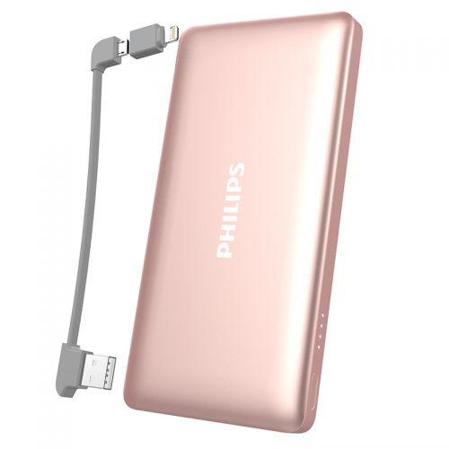 飞利浦(Philips)10000mAh 手机充电宝 手机移动电源 便携移动电源 DLP6101