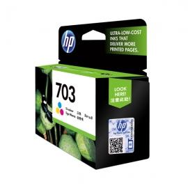 惠普(HP)CD888AA 703号彩色墨盒(适用DJ F735 D730 K109a/g K209a/g Photosmart K510a)