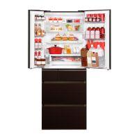 产地日本 进口松下(Panasonic)595L六门冰箱 NR-F603HX-T5(琥珀棕)