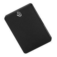 希捷(Seagate)500GB USB3.0 2.5英寸移动固态硬盘黑钻版 STJD500400(纹理黑)