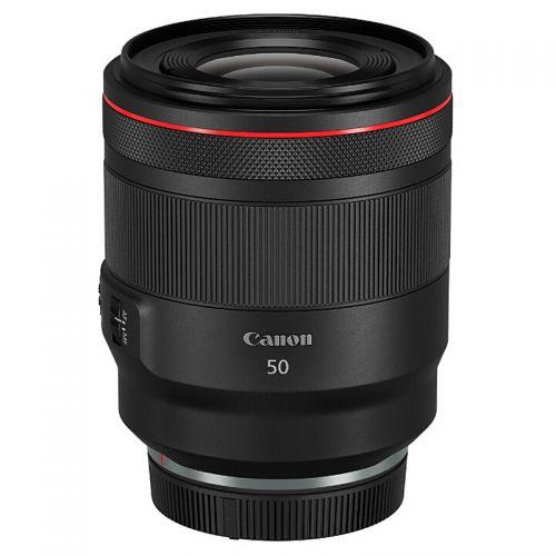 产地日本 进口佳能(Canon)专微标准定焦镜头 RF50mm F1.2 L USM(黑色)
