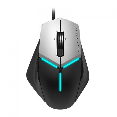 外星人(Alienware)有线游戏鼠标AW958(黑色+银色) 【特价商品,非质量问题不退不换,售完即止】【清仓折扣】