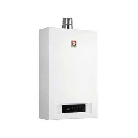 樱花(SAKURA)10升 智能恒温 强排式 天然气热水器 SCH-10E58T