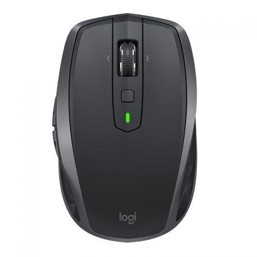 罗技(Logitech)蓝牙鼠标 无线鼠标 电脑鼠标 MX Anywhere 2S  (儒雅黑)