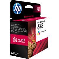 产地马来西亚 进口惠普(HP)   彩色墨盒678 (CZ108AA)