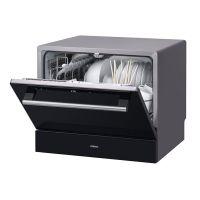 老板(ROBAM)台嵌两用 三层过滤 玻璃面板 台式洗碗机 WQP6-W703