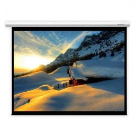 美视(GRANDVIEW)120 英寸 W1 电动投影幕布4:3白塑幕