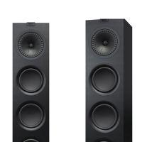 KEF Q750 落地音箱一对 家庭影院音响(黑色)