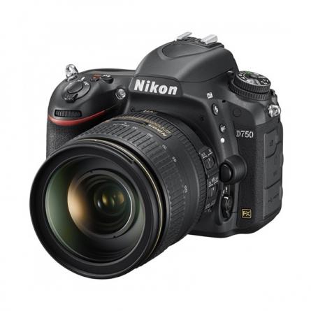 产地泰国 进口尼康(Nikon)D750 单反相机套机(AF-S 尼克尔 24-120mm f/4G ED VR镜头)