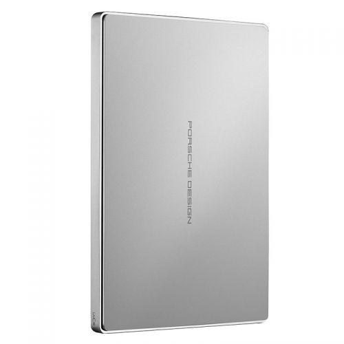 莱斯(LaCie)2TB 移动硬盘 Type-c接口 移动存储设备 2.5英寸 STFD2000400(银色)