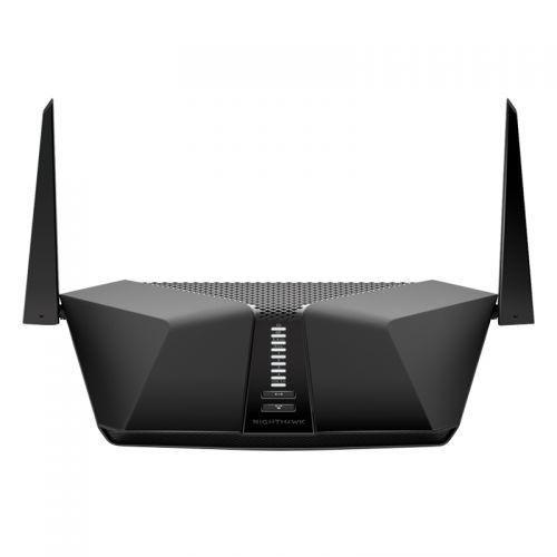 网件(NETGEAR)RAX40 AX3000M双频千兆智能无线高速路由器 (黑色)