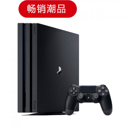 索尼(SONY)PlayStation PS4 Pro 1TB家庭游戏机 CUH-7109B B01(黑色)