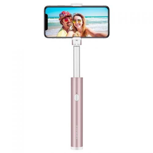 摩米士(Momax)SelfieLight 美光智拍器 KM12M (玫瑰金)