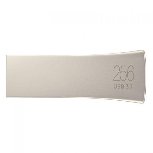 三星(SAMSUNG)256GB U盘USB3.1传输 MUF-256BE3/CN(香槟银)