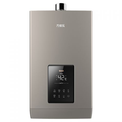 万家乐(Macro)13升 零冷水恒温 强排式 天然气热水器 JSQ26-13Z6(咖啡金)