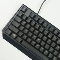 樱桃(Cherry)MX1.0全尺寸红轴RGB背光游戏键盘 G80-3819LYAEU-2(黑色)