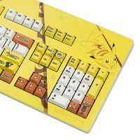 樱桃(Cherry)宝可梦键盘游戏办公机械键盘红轴皮卡丘经典版G80-3494(黄色)