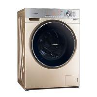 松下(Panasonic)10公斤 变频带烘干滚筒洗衣机 XQG100-EG13K(香槟金)