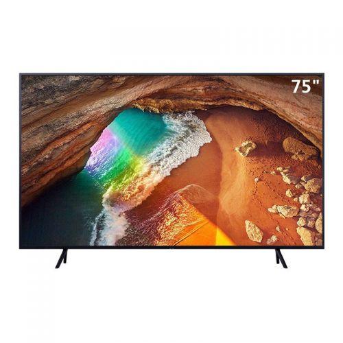 三星(SAMSUNG)75英寸 4K 光质量子点平面电视 QA75Q60RAJXXZ(黑色)