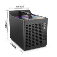 【预订】联想(Lenovo)拯救者刃9000 GTI游戏台式机(i7-9700K 16GB 512GB+2TB RTX2070)黑色
