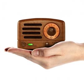 猫王(MAOKING)小王子FM便携式蓝牙音箱 收音机(胡桃木)