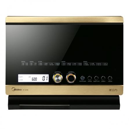 美的(Midea)32升 蒸汽微波炉蒸烤箱一体机 X7-321B(黑色)