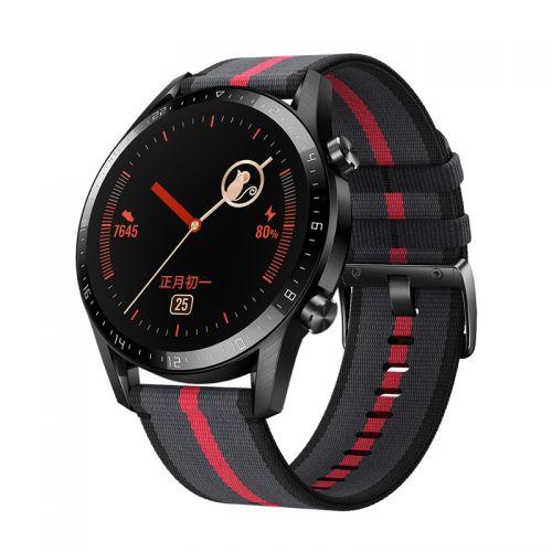 华为(HUAWEI) WATCH GT2智能手表新年红LTN-B19(46mm)