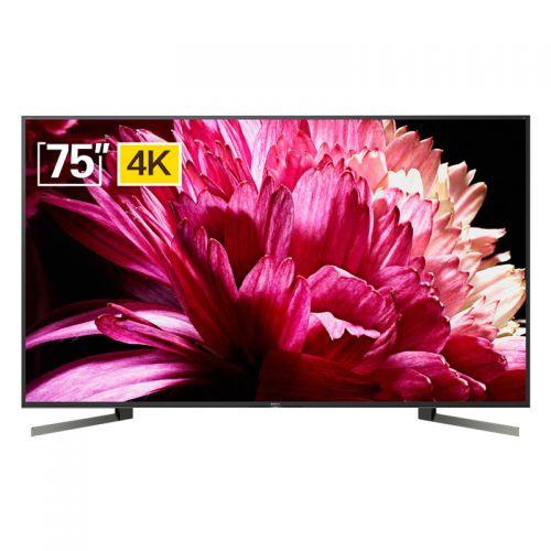索尼(SONY) 75英寸 4K平面液晶电视 KD-75X9500G(黑色)