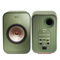 KEF 高保真蓝牙Hi-Fi立体声音箱 LSX(橄榄绿)